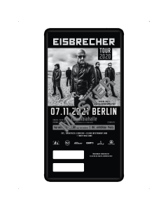 EISBRECHER '07.11.2021 - Berlin' Ticket