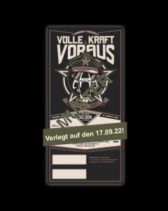 VOLLE KRAFT VORAUS 'Festival 2020' Ticket - verlegt auf 17.09.2022