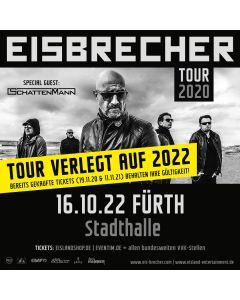 EISBRECHER '16.10.2022 - Fürth' Ticket