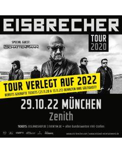EISBRECHER '29.10.2022 - München' Ticket