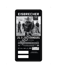 EISBRECHER '26.11.2021 - Hamburg' Ticket