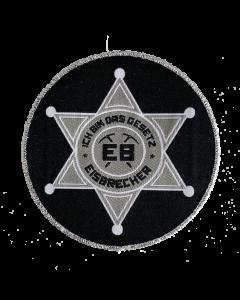 EISBRECHER 'Das Gesetz' Aufnäher rund