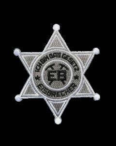 EISBRECHER 'Das Gesetz' Aufnäher Sheriff