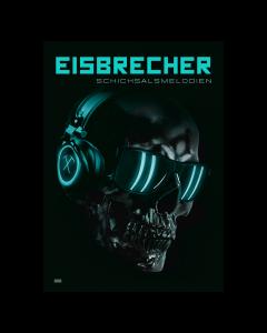 EISBRECHER 'Schicksalsmelodien' limitiertes Kunst-Poster