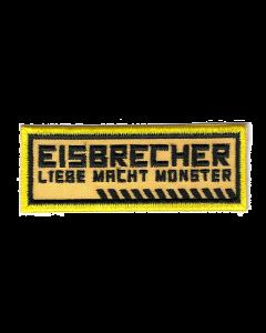 EISBRECHER 'LMM gelb' Aufnäher