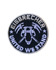 EISBRECHER 'United We Stand' Klett-Patch rund