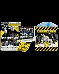"""EISBRECHER 'FAKK eisblau 7"""" Sonic Seducer 03/2021' Magazin + Vinyl"""