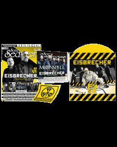 """EISBRECHER 'FAKK gelb 7"""" Sonic Seducer 03/2021' Magazin + Vinyl"""
