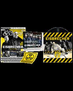 "EISBRECHER 'FAKK schwarz 7"" Sonic Seducer 03/2021' Magazin + Vinyl"