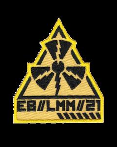 EISBRECHER 'LMM Dreieck gelb' Klett-Patch