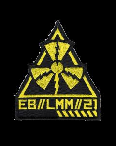 EISBRECHER 'LMM Dreieck schwarz' Klett-Patch