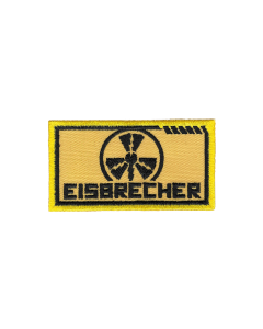 EISBRECHER 'LMM klein gelb' Aufnäher