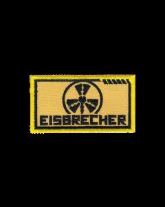 EISBRECHER 'LMM klein gelb' Klett-Patch