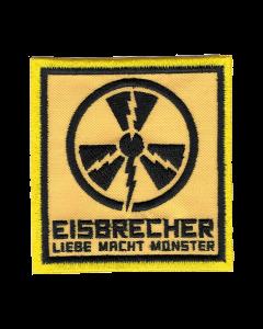 EISBRECHER 'LMM Quadrat gelb' Klett-Patch