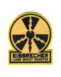 EISBRECHER 'LMM Kreis gelb' Aufnäher