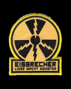 EISBRECHER 'LMM Kreis gelb' Klett-Patch