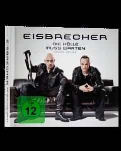 EISBRECHER 'Die Hölle muss warten - Deluxe Edition' Mediabook CD + DVD